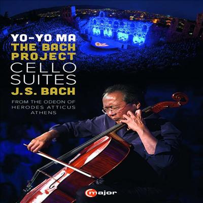 요요마 - 바흐 프로젝트: 무반주 첼로 모음곡 1 - 6번 전곡 (Yo-Yo Ma The Bach Project - Cello Suites Nos.1 - 6) (2DVD)(한글자막) (2020) - Yo-Yo Ma