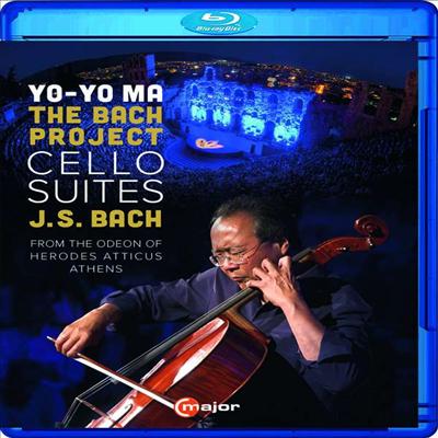 요요마 - 바흐 프로젝트: 무반주 첼로 모음곡 1 - 6번 전곡 (Yo-Yo Ma The Bach Project - Cello Suites Nos.1 - 6) (Blu-ray)(한글자막) (2020) - Yo-Yo Ma