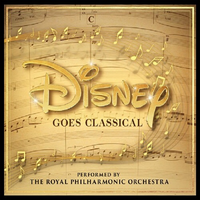 로얄 필하모닉 오케스트라 - 디즈니 고즈 클래시컬 (Royal Philharmonic Orchestra - Disney Goes Classical)(CD) (Digipack) - Royal Philharmonic Orchestra