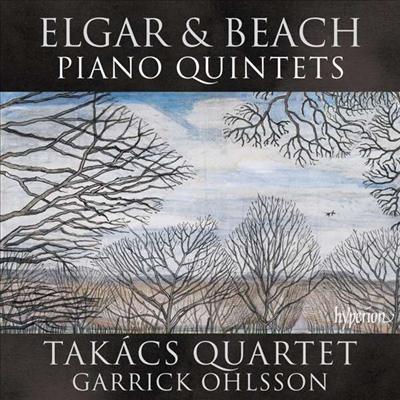 엘가 & 비치: 피아노 오중주 (Elgar & Beach: Piano Quintet) - Takacs Quartet