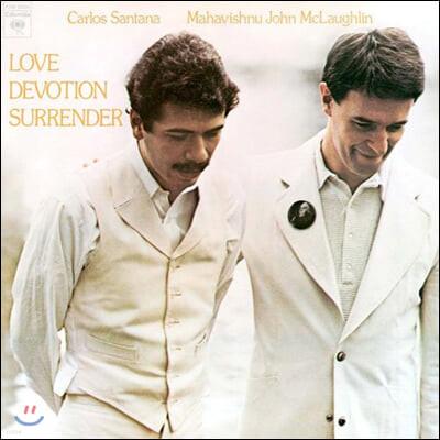 Carlos Santana / John McLaughlin (카를로스 산타나, 존 맥러플린) - Love Devotion Surrender [LP]