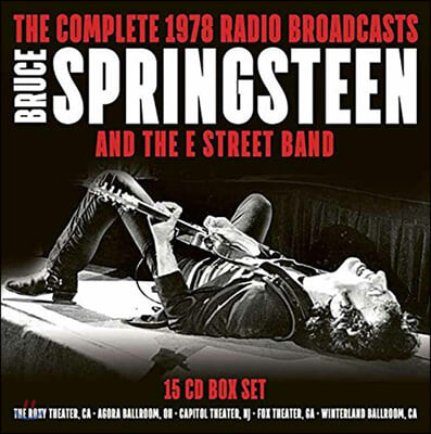 Bruce Sprinsteen & The E Street Band (브루스 스프링스틴, E 스트리트 밴드) - The Complete 1978 Radio Broadcasts