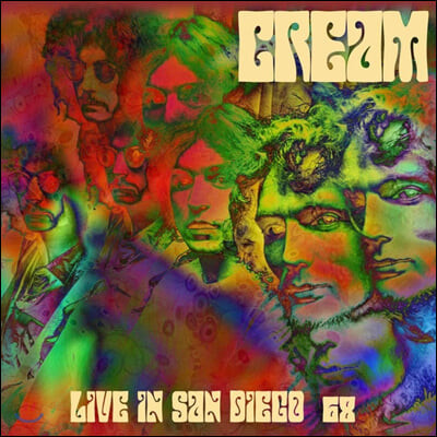 Cream (크림) - Live In San Diego '68