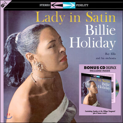 Billie Holiday (빌리 홀리데이) - Lady in Satin [LP+CD]