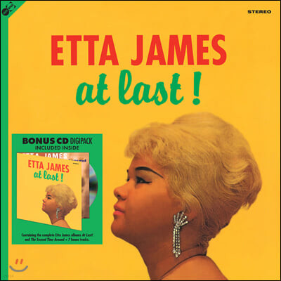 에타 제임스 (Etta James) - At Last! [LP+CD]