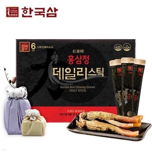 [한국삼] 홍삼정 데일리스틱 30포*1박스