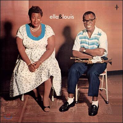 Ella Fitzgerald & Louis Armstrong (엘라 피츠제럴드 앤 루이 암스트롱) - Ella & Louis [LP+7인치 컬러 Vinyl]