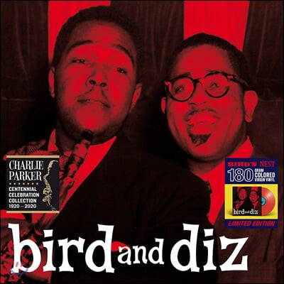 Dizzy Gillespie & Charlie Parker (디지 길레스피 앤 찰리 파커) - Bird and Diz [레드 컬러 LP]