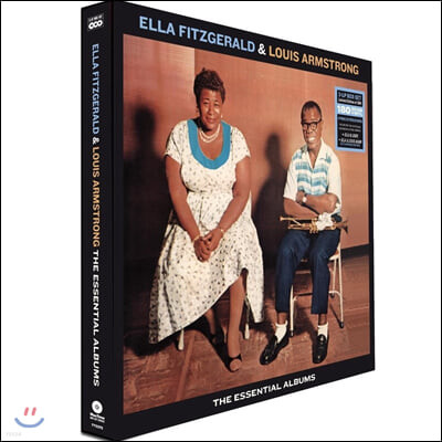 Ella Fitzgerald & Louis Armstrong (엘라 피츠제럴드 앤 루이 암스트롱) - The Essential Albums [3LP 박스 세트]