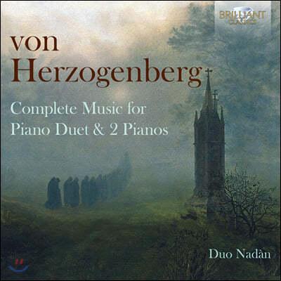 Duo Nadan 폰 헤어초켄베르크: 네 손과 두 대의 피아노를 위한 곡 (Von Herzogenberg: Complete Music for Piano Duet)