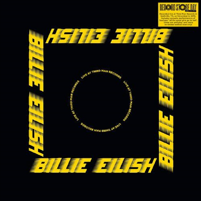 Billie Eilish - Live At Third Man Records (2020 RSD)(Ltd)(Colored LP)
