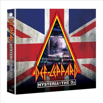 Def Leppard - Hysteria At The O2 (Digipack)(Blu-ray+2CD)(Blu-ray)(2020)