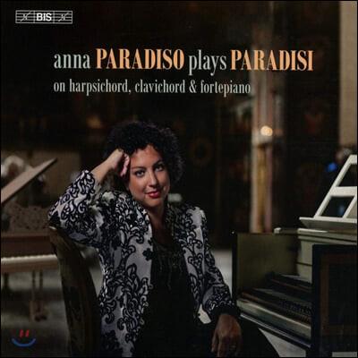 Anna Paradiso 피에트로 도메니코 파라디시: 건반 작품집 (Anna Paradiso Plays Paradisi)