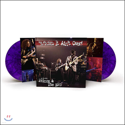 Prince & The New Power Generation (프린스 앤 더 뉴 파워 제너레이션) - One Nite Alone... The Aftershow: It Ain'T Over! (Up Late With Prince & The NPG) [마블 퍼플 컬러 2LP]