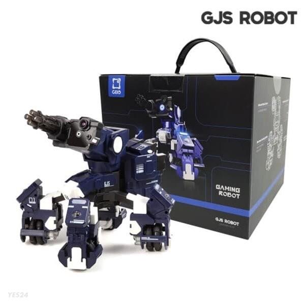 GJS ROBOT 지오 스마트 코딩 무선조종 ai 로봇 GEIO (블루/레드)