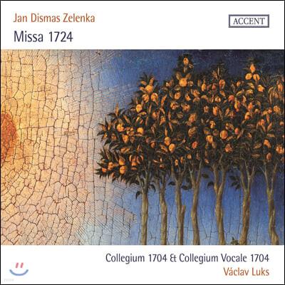 Vaclav Luks 얀 디스마스 젤렌카: 1724년 미사 (Jan Dismas Zelenka: Missa 1724)