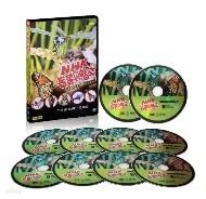 [ NHK 다큐멘터리] 동물의 왕국 - 지구촌 동물가족 DVD 10 DISC (잠자리, 나비와 개미 등 10편 ) /우리말/총750분/전체관람가