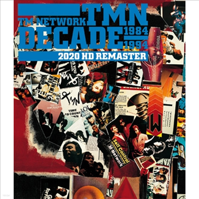 Tm Network (티엠 네트워크) - Decade 2020 HD Remaster (Blu-ray)(Blu-ray)(2020)
