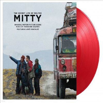 O.S.T. - Secret Life Of Walter Mitty (월터의 상상은 현실이 된다) (Score)(Soundtrack)(180g Colored LP)