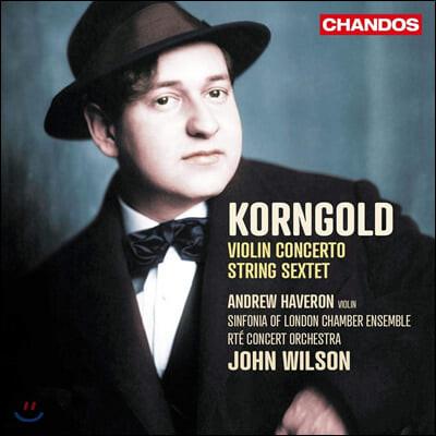 John Wilson 코른골트: 바이올린 협주곡, 현악 6중주 (Korngold: Violin Concerto, String Sextet)