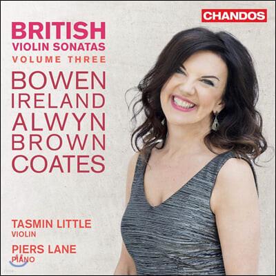 Tasmin Little 영국 바이올린 소나타 3집 - 타스민 리틀 (British Violin Sonatas Vol. 3)