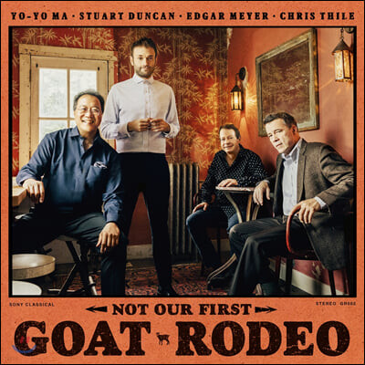 Yo-Yo Ma / Chris Thile (요요마의 고트 로데오 프로젝트) - Not our first Goat Rodeo