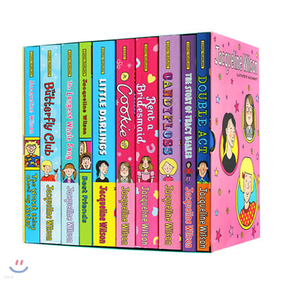 재클린 윌슨 페이퍼백 10권 세트 Jacqueline Wilson Collection : 10 Book Box Set