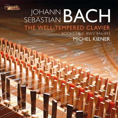 바흐: 평균율 클라비어 1권 & 2권 전곡 (Bach: The Well-Tempered Clavier, Books I & II, BWV 846-893) (4CD) - Michel Kiener