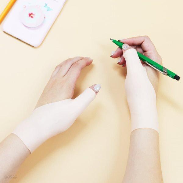 [손목터널증후군/명절증후군극복]손목근력 실리콘보호대 SR121