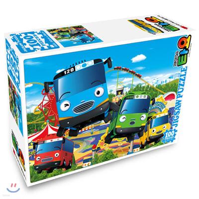 꼬마버스 타요 직소퍼즐 100pcs 놀이동산
