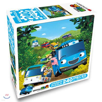 꼬마버스 타요 직소퍼즐 240pcs 봄소풍