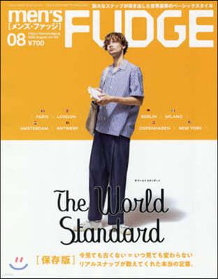 men's FUDGE(メンズファッジ) 2020年8月號