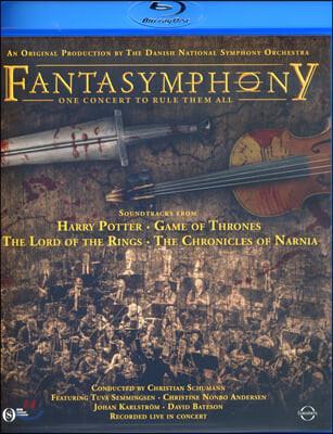 덴마크 국립 교향악단 - 영화 음악 콘서트 (Fantasymphony) [블루레이]