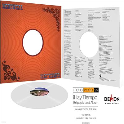 Menswear - Hay Tiempo (180g Clear LP)