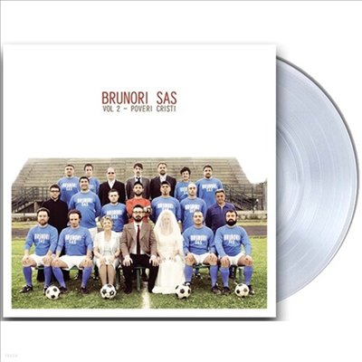 Brunori Sas - Vol 2: Proveri Cristi (180g Clear Vinyl LP)