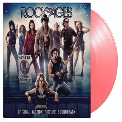 O.S.T. - Rock Of Ages (락 오브 에이지) (Soundtrack)(180g Gatefold Colored 2LP)