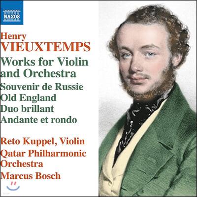 Marcus Bosch 앙리 비외탕: 바이올린과 오케스트라를 위한 작품집 (Henri Vieuxtemps: Works for Violin and Orchestra)