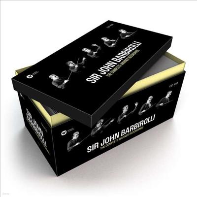 존 바비롤리 - 워너 전집(John Barbirolli - The Complete Warner Recordings) (109CD Boxset) - John Barbirolli