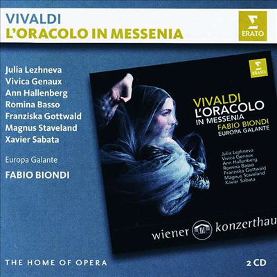 비발디: 오페라 '메세니아의 오라콜로' (Vivaldi: Opera 'L'oracolo in Messenia') (2CD) - Fabio Biondi