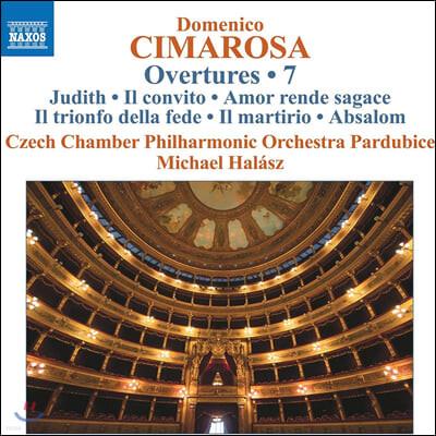 Michael Halasz 도메니코 치마로사: 서곡 작품 7집 (Cimarosa: Overtures Vol. 7)