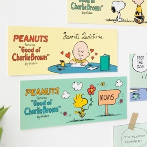[Peanuts] 굿올 스티커_Spring