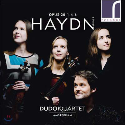 Dudok Quartet 하이든: 현악사중주 1, 4, 6번 (Haydn: String Quartets Op. 20)