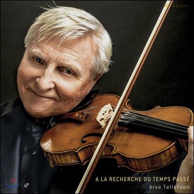 Arve Tellefsen 아르베 텔레프센 바이올린 연주집 (A La Recherche Du Temps Passe) [LP]