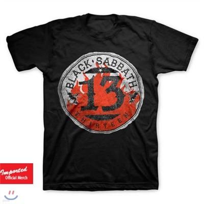 블랙 사바스 (Black Sabbath) Flame Circle 티셔츠