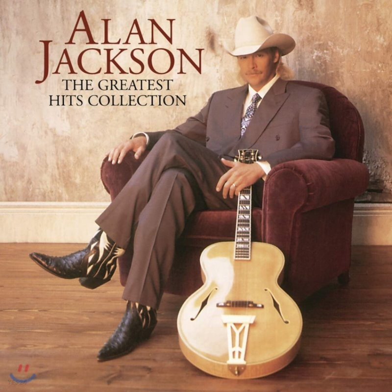 Alan Jackson (앨런 잭슨) - The Greatest Hits Collection [2LP]