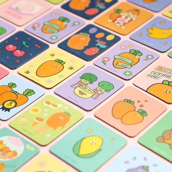 6000 당근친구들 메모리 카드 보드게임