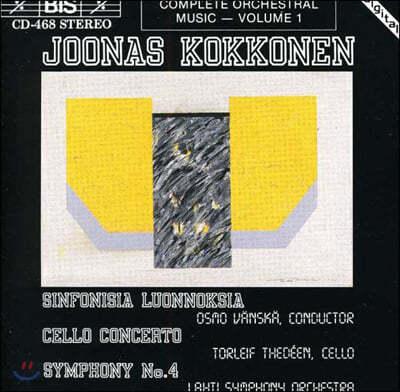 Osmo Vanska 요나스 코코엔: 교향적 스키트쉐스, 첼로 협주곡 (Joonas Kokkonen: Symphonic Sketches, Concerto for Cello and Orchestra)