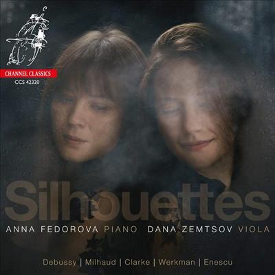 실루엣 - 비올라와 피아노를 위한 작품집 (Silhouettes - Works for Viola and Piano) - Dana Zemtsov