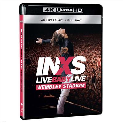 Inxs - Live Baby Live (4K)Ultra HD Blu-ray+Blu-ray)