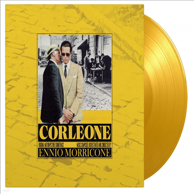 Ennio Morricone - Corleone (최후의 시실리) (180g Colored LP)